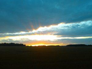 Sunset - big skies