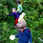 Children Blackberry Picking