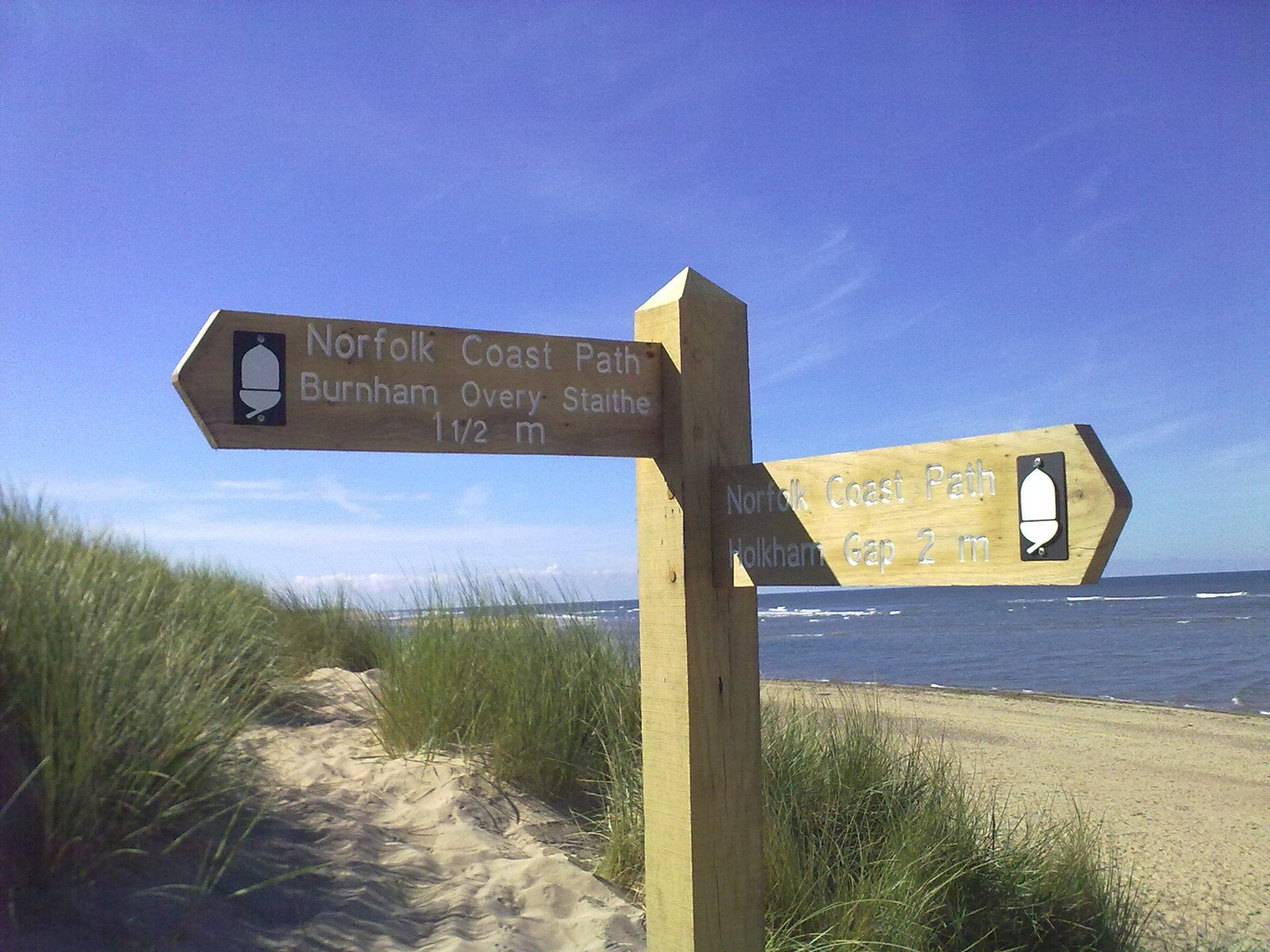 Beautiful Norfolk Coastal Path Walks