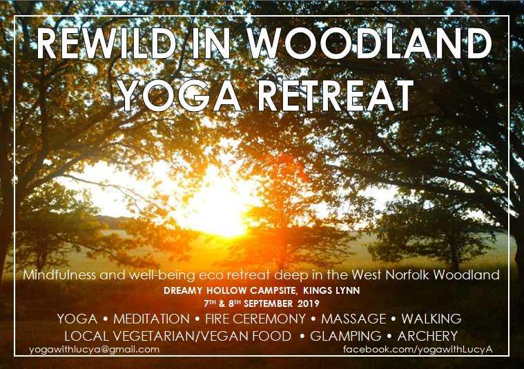 """Rewild"" at our Woodland Yoga Retreat"